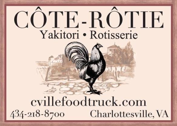 Charlottesville 2019 Best Food Truck: Côte-Rôtie   The