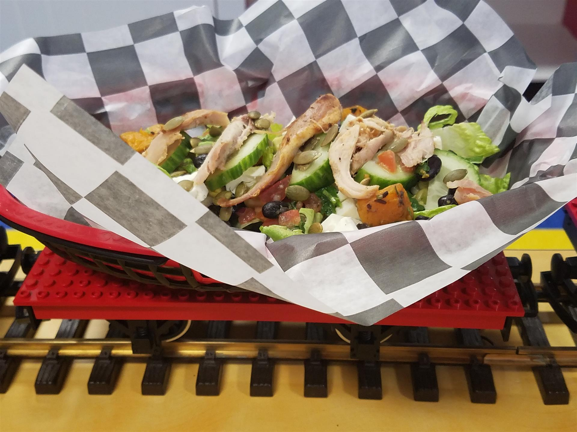 In Addition To A Little Conductoru0027s Menu Of Hot Dogs, Burgers, And Grilled  Cheese, Chew Chew Town Will Offer Four Varieties Of U201cLoading Dock Nachosu201d  ...