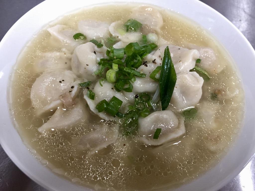 Dumpling soup from Sussex Farm